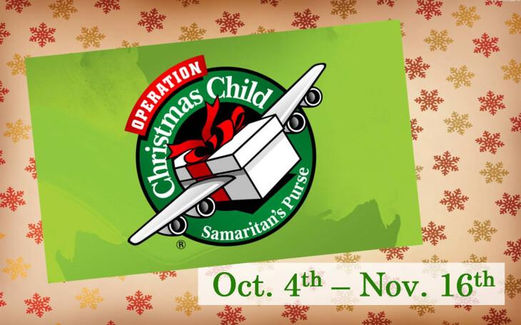 Operation Christmas Child 2014