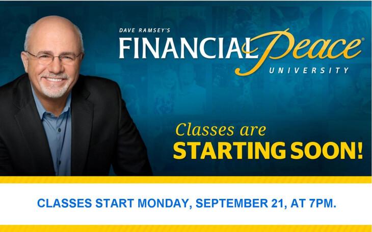 Financial Peace University 2014