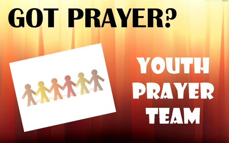 Youth Prayer Team Training