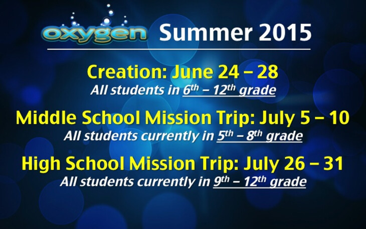 Oxygen Summer 2015 Summer Destinations