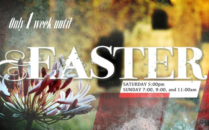 Easter -  weeks until!