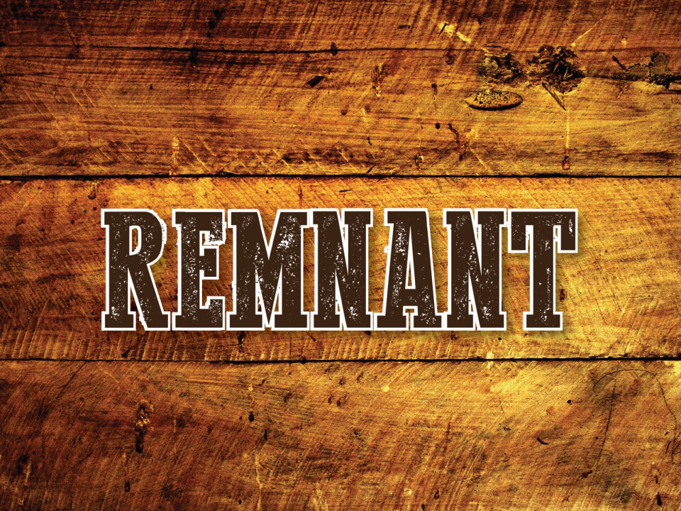 Young Adults | Remnant