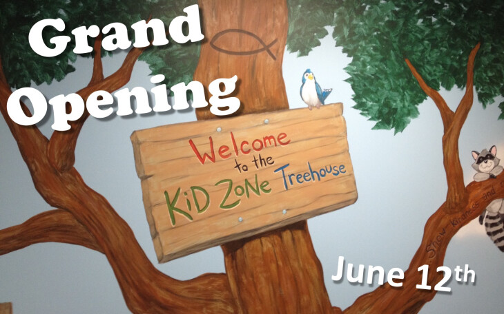 Kid Zone Treehouse opening - Grand opening
