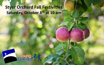 Young Families at Styer Orchard