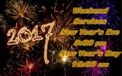 New Year's Eve & New Year's Day Services
