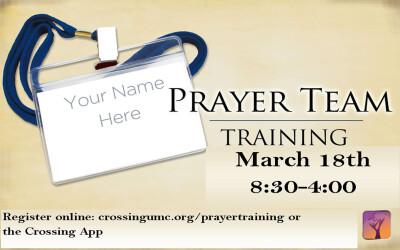 Basic Prayer Team Training