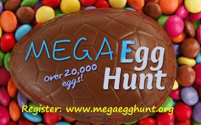 Mega Egg Hunt April 8th