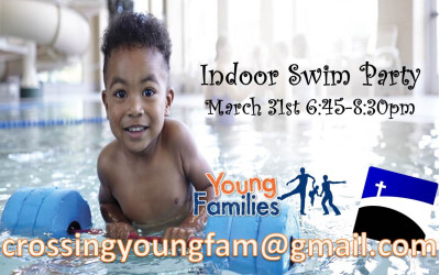 Young Families Indoor Swim Party
