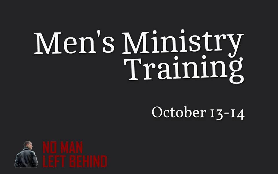 Men's Ministry Training-No Man Left Behind Training
