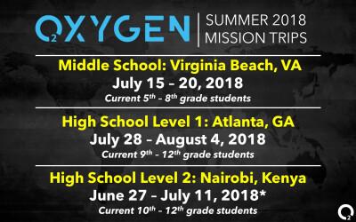 Oxygen Mission Trips
