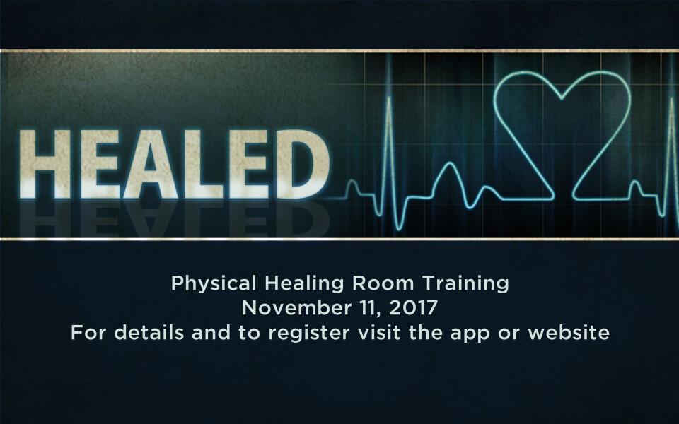 Healing Room Training