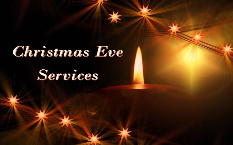 Christmas Eve Sunday morning services