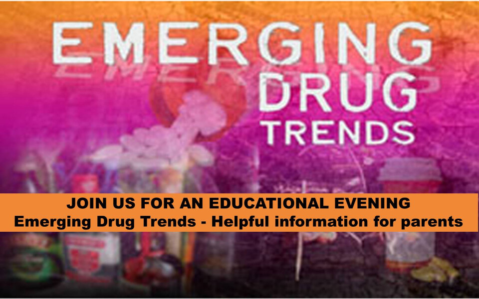 Guest Speaker Presents: Emerging Drug Trends