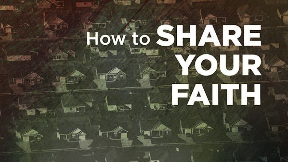 How to Share the Gospel Small Group