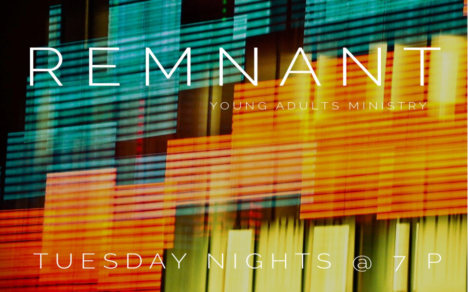 Remnant Young Adults Ministry
